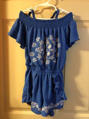 Girls size 7/8 romper for Sale in Abilene, TX