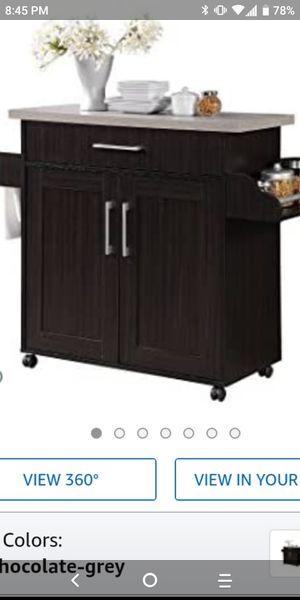 Kitchen Island/Bar Cart for Sale in Houston, TX