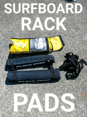 Surfboard Roof Rack Block Pads for Sale in Tacoma, WA