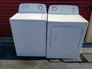 washer and dryer in perfect condition with delivery included for Sale in San Antonio, TX