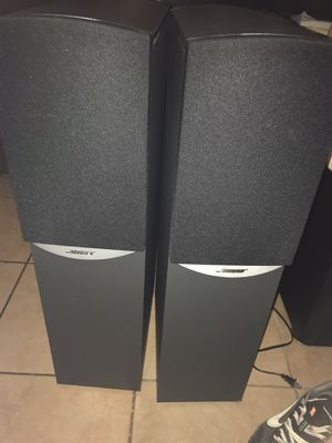 Bose 601 series Iv floor standing speakers for Sale in Chevy Chase, MD