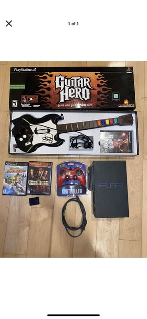 Ps2 bundle lot with games, new controller, and memory card for Sale in Annandale, VA
