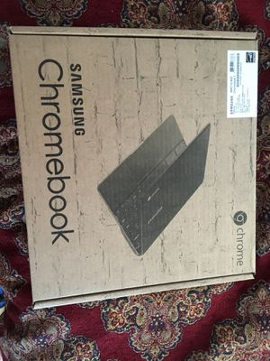 125$ Samsung chromebook 3 model# 500c13-s02 New In Box for Sale in Lowell, MA