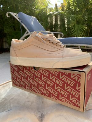 Vegetta Tan Vans size 9 worn a couple times for Sale in Miami, FL