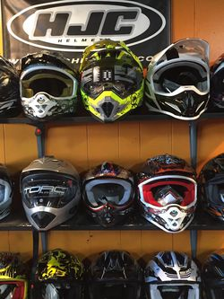 New Off Road Dirt Bike Dot Motorcycle Helmet $85 and Up for Sale in Whittier,  CA