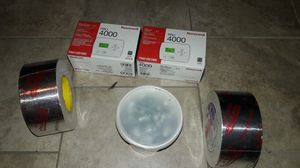 Tape,sheet metal screws,thermostats. And rest of Air Cond duct 80 bags only. for Sale in Chamblee, GA