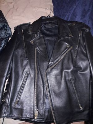 Motorcycle Leather jacket for Sale in Bryn Mawr, PA