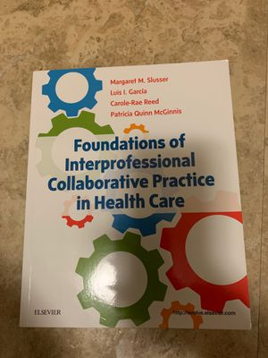 Foundations of interpersonal collaboration practice in health care for Sale in Cleveland, OH