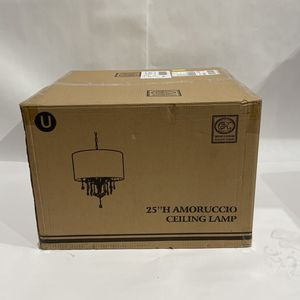 "OK Lighting 25""H Amoruccio Ceiling Lamp for Sale in Milwaukie, OR"
