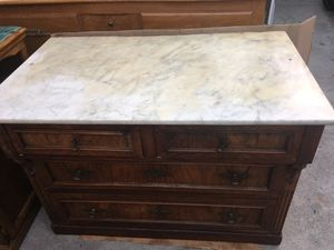 Antique Dresser with Marble Top for Sale in Glendale, CA
