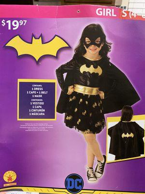 Batgirl costume Size 4/5 for Sale in Lakeland, FL
