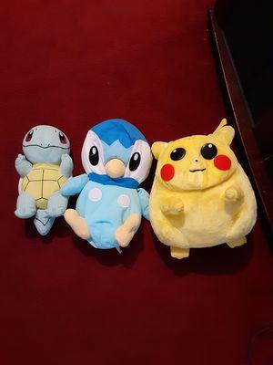 Pokémones muñecos for Sale in Houston, TX
