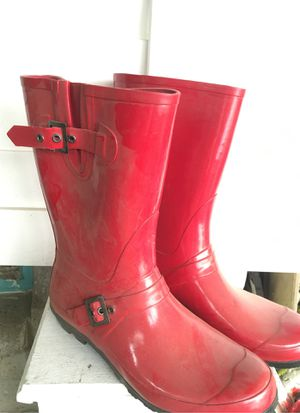 Rain boots size 10 for Sale in Fresno, CA