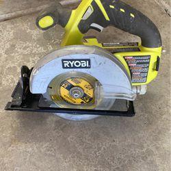 Ryobi 5 1/2 Cordless Circular Saw for Sale in Chandler,  AZ