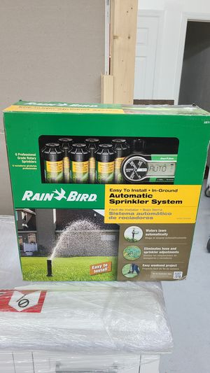 Rain bird automatic sprinkler system for Sale in Fayetteville, NC