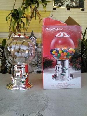 Silver Plated Candy Cane Design Candy Dispenser (New) L@@K!!! for Sale in Mesa, AZ