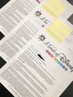 A Touch of Disney Tickets! for Sale in Anaheim,  CA