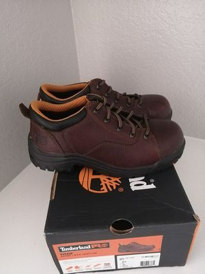 Brand new Timberland pro work boots for women. Size 8.5. Alloy toe for Sale in Riverside, CA