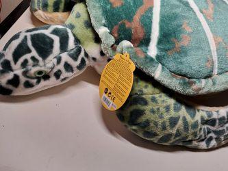 Melissa & Doug Giant Sea Turtle Large Lifelike Stuffed Animal Toy Pillow for Sale in Kirkland,  WA