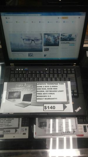 Lenovo Thinkpad T400 Laptop for Sale in Capitol Heights, MD