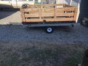 6x8 utility/sled trailer for Sale in Greenacres, WA