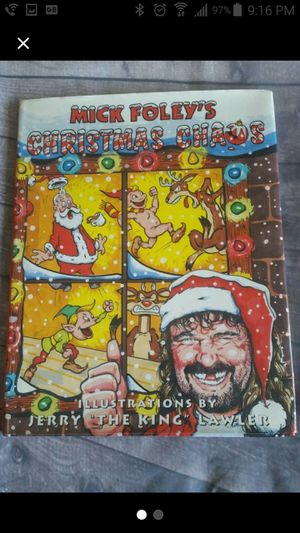 Mick Foley's Christmas Chaos Book for Sale in Lake Elsinore, CA
