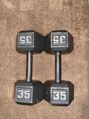 35lbs Dumbells for Sale in Downey, CA
