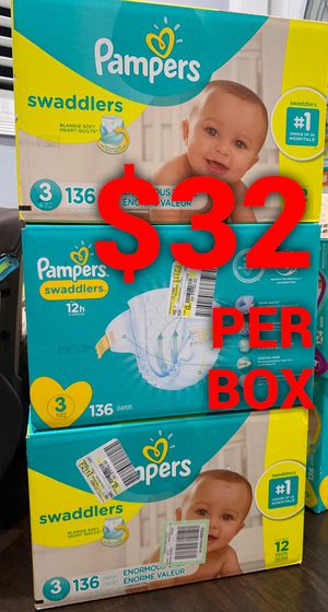 Pampers Swaddled size 3 for Sale in Long Beach, CA