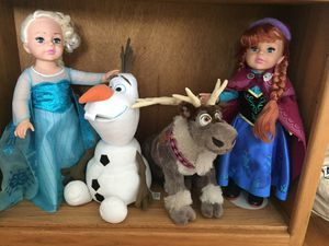 Disney Anna and Elsa dolls for Sale in South San Francisco, CA