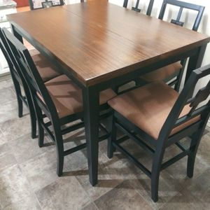 Bar Height Table & 6 Chairs for Sale in Indianapolis, IN