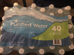 40 pack of bottled water for Sale in Morrisville, PA