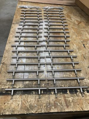 """36 Stainless steel kitchen cabinet handles 8"""" long. for Sale in Miami, FL"""