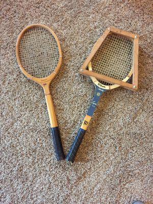 Wooden Tennis Rackets for Sale in Oak Ridge, NC