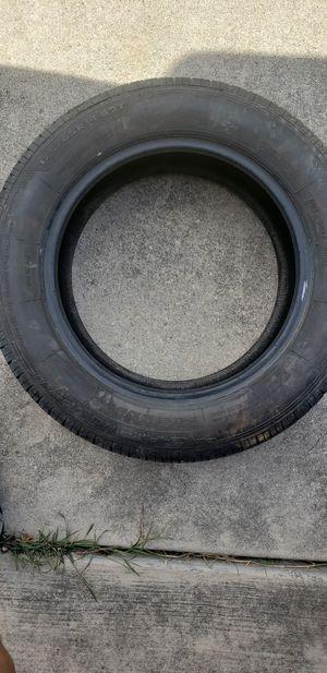 Boat trailer tire/rim and one tire spec 175/65 R14 82T for Sale in Seguin, TX