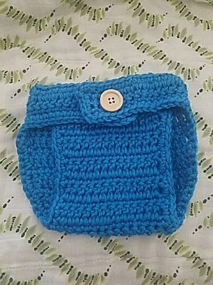 Newborn crochet diaper for Sale in Oakland, CA