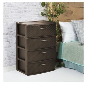 Plastic 4 Drawer for Sale in Raleigh, NC