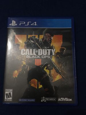 Call of duty black ops 4, ps4 for Sale in Manassas, VA