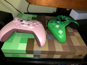 Xbox One S Minecraft Limited Edition for Sale in Methuen, MA