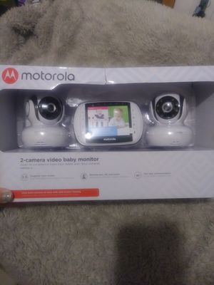 ▪Motorola®▪ 2-Camera Video Baby Monitor System▪MBP36S-2▪Night Vision▪Split Screen Viewing▪New in Box▪ for Sale in Auburn, WA