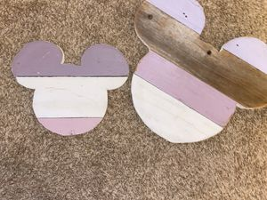 Mickey Mouse wood sign for Sale in Poway, CA