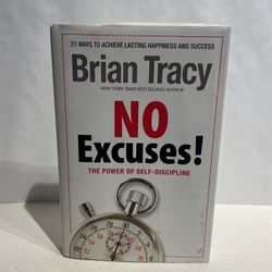"""Used Book """"NO EXCUSES"""" By Brian Tracy for Sale in San Diego,  CA"""