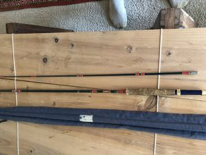 Vintage FG presentation fly rod numbered for Sale in Seattle, WA