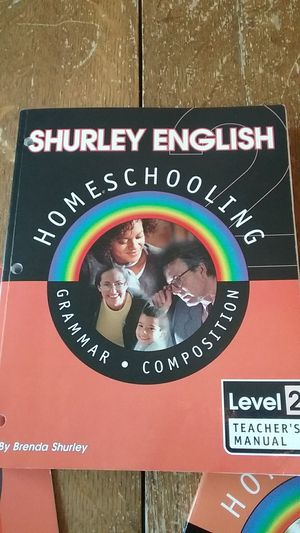 Shurley English Level 2 Homeschooling for Sale in Newport News, VA