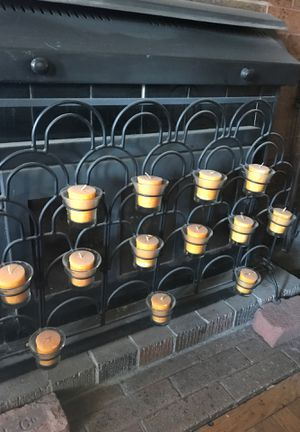 Iron candleholder for Sale in Blackwood, NJ