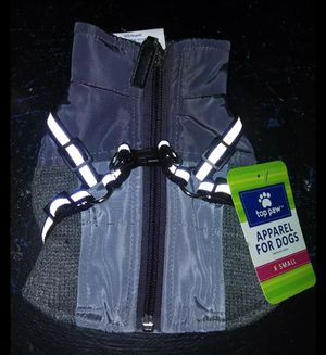 Winter Dog Harness Coat X-Small for Sale in Chicago, IL