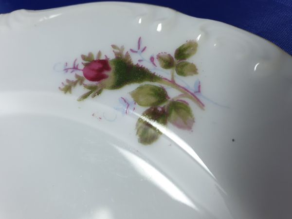 3 pcs rose elegent plates