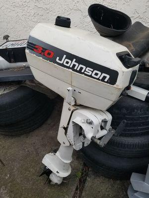 Johnson 3 hp outboard motor for Sale in Sacramento, CA
