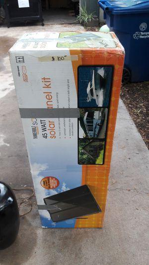 45 watt solar kit for Sale in Tempe, AZ