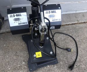 D NAIL HEAT PRESS for Sale in Portland, OR