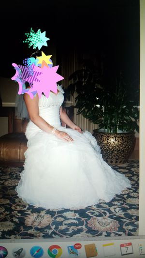 Wedding dress size 12/14 for Sale in Palos Hills, IL